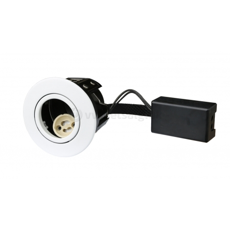 Downlight Next GU10 7W LED mat hvid